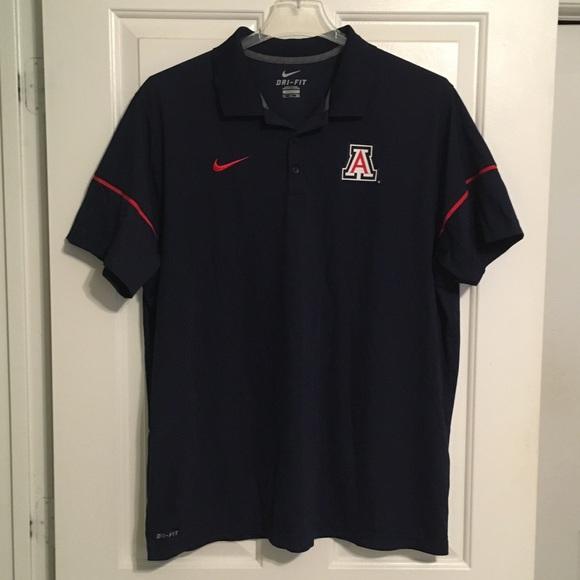 Nike Other - Nike DriFit Arizona Wildcats Mens Polo Shirt XXL